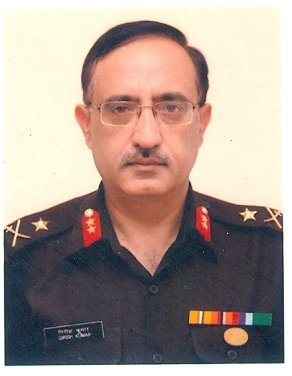 Maj Gen Girish Kumar Surveyor General of India